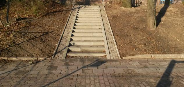 aanleg trap